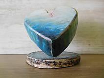 Dekorácie - dekorácia - drevené srdce v priestore II (srdiečko) - 6863618_