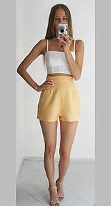 Nohavice - Vintage šortky Anita - broskyňová |  rôzne farby - 6866779_