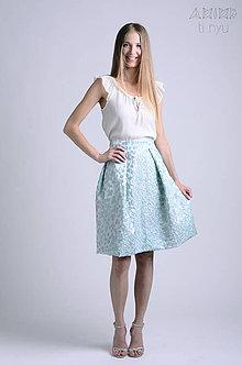 Sukne - Sukňa Lelle - slávnostná, svadobná | viac veľkostí - 6866421_