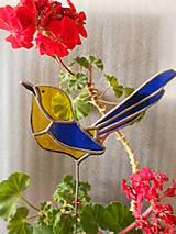 Dekorácie - Vtáčik - 6865488_