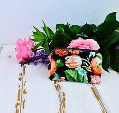 Peňaženky - Peňaženka- tulipány - 6863845_