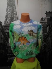 Detské oblečenie - Za čias dinosaurov ... - 6865332_