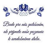 - Pozvánka k svadobnému stolu Slovak Folk - 6870172_
