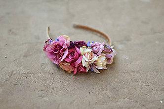 Ozdoby do vlasov - Poézia zámockých ruží - 6869434_