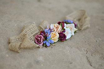 Opasky - Poézia zámockých ruží - 6869437_
