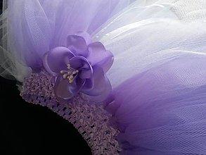 Detské oblečenie - fialková suknička - 6868695_