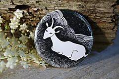 Odznaky/Brošne - Placka s kozou - 6867521_