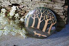 Odznaky/Brošne - Placka Liška pod stromy - 6867533_