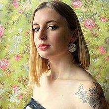 Náušnice - Bridal earrings n,5 - 6870189_