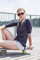 - Summertime - kraťase krémovej farby - 6869111_