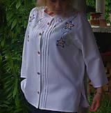 Košele - Vyšívaná košeľa - 6869654_