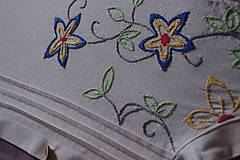 Košele - Vyšívaná košeľa - 6869666_