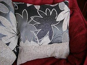 Úžitkový textil - sivo-béžový gentlmen II - 6872477_