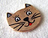 Odznaky/Brošne - Zlatá mačí - 6872603_