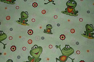 Textil - Látka Žabky - 6873446_