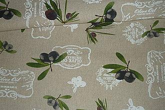 Textil - Látka Olivy na režnej - 6873545_