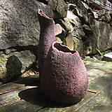 Nádoby - Dekorativní keramická i - 6871497_