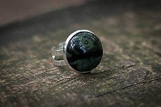 Prstene - prsteň kabošon - 6873107_
