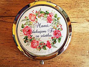 Zrkadielka - Zrkadielko pre mamku - 6872297_