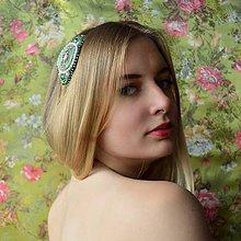 Ozdoby do vlasov - Vintage Headband S n.15 - 6871600_