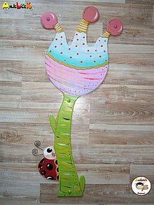 Detské doplnky - Dekorácia na zavesenie - kvietok - 6871197_