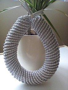 Materiál ručne robený - Veniec - vajíčko - 6871033_