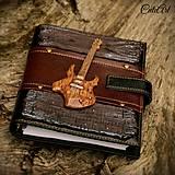 Papiernictvo - Organizér pre rockerku - s rockovou gitarou - 6871302_