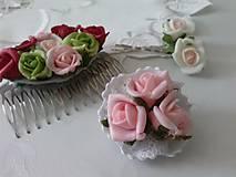 Odznaky/Brošne - Romantická brošnička - 6871454_