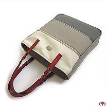 Veľké tašky - SCHOOL & OFFICE - Three Colours (grey) - 6873684_