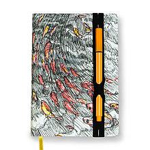 Papiernictvo - Zápisník A6 V prúde - 6872233_