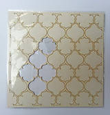 Papier - Chipboard panel 14,5x14,5cm Alice - 6875522_