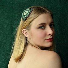 Ozdoby do vlasov - Vintage Headband  n.9 - vyšívaná čelenka - 6875659_