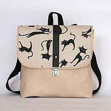 Detské tašky - Detský batôžtek (Cats) - 6874882_