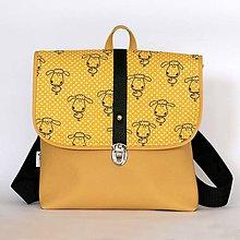 Detské tašky - Detský batôžtek (Ovečky) - 6874938_
