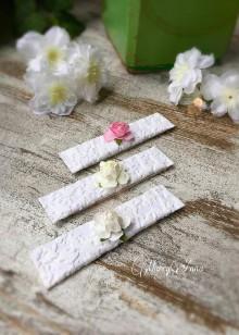 Darčeky pre svadobčanov - svadobná žuvačka Ruža - 6876965_