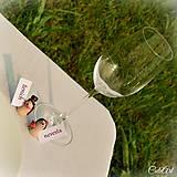 Darčeky pre svadobčanov - Darčeky pre svadobných hostí, menovky - ježkovia - 6875878_