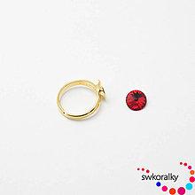 Komponenty - Prsten na RIVOLI 8 SWAROVSKI ® ELEMENTS - 6875632_