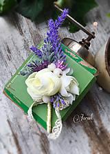 Pierka - Pierko pre ženícha Levanduľa - 6876714_