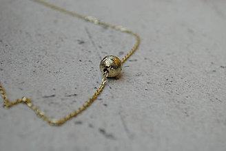Náhrdelníky - Líneas retiazka zlatá - 6878632_