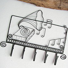 Iné - vešiak hudobný - 6877849_