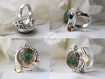 Prstene - Ethereal Desert Flower - 6878655_