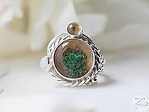 Prstene - Ethereal Desert Flower - 6878661_