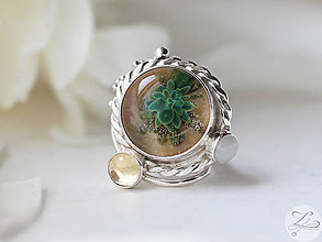 Prstene - Ethereal Desert Flower - 6878658_