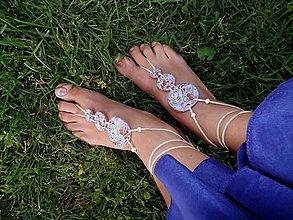 Iné šperky - sandále naboso - 6880593_
