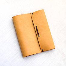 Papiernictvo - Kožený zápisník - karisblok