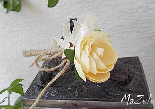 Pierka - vintage svadobné pierko VII. - 6882020_