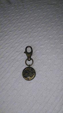 Kľúčenky - kľúčenka - strojček hodín - 6881508_