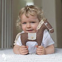 Hračky - koník Vraník - 6881350_