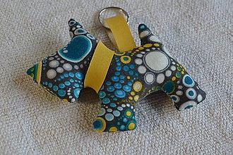 Kľúčenky - kľúčenka prívesok psík (12) - 6882066_