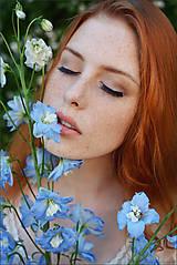 Fotografie - Modré kvety - 6881305_